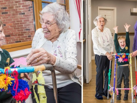 Pensioners who wanted to pimp their zimmer frames had their wishes delivered by these kids