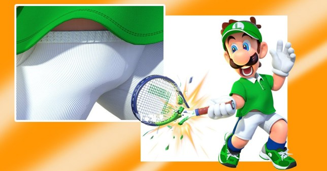 Nintendo reveals Luigi's penis and fans are going nuts