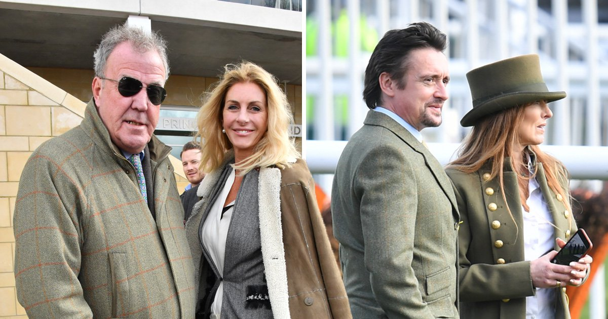 Jeremy Clarkson and Richard Hammond are ready for the races after Grand Tour axe claims
