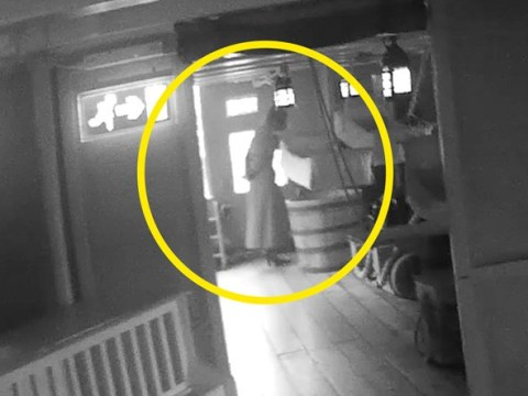 Man thinks he filmed the ghost of Admiral Nelson's wife on the HMS Victory
