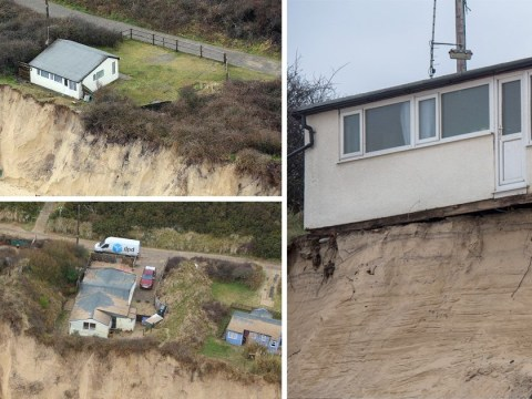 Homes in 'imminent danger' of falling into sea after mini Beast from the East
