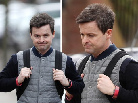 'Devastated' Dec Donnelly pictured for first time since Ant McPartlin's arrest