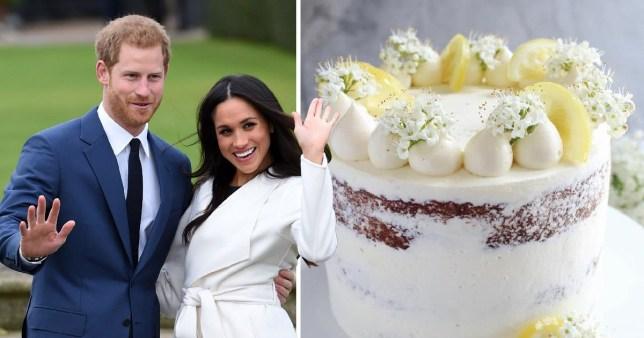 Meghan Markle Wedding Cake.What Royal Wedding Cake Are Prince Harry And Meghan Markle