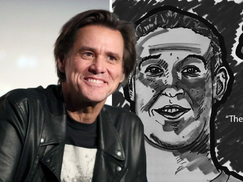 Jim Carrey slams Mark Zuckerberg with another of his satirical artworks