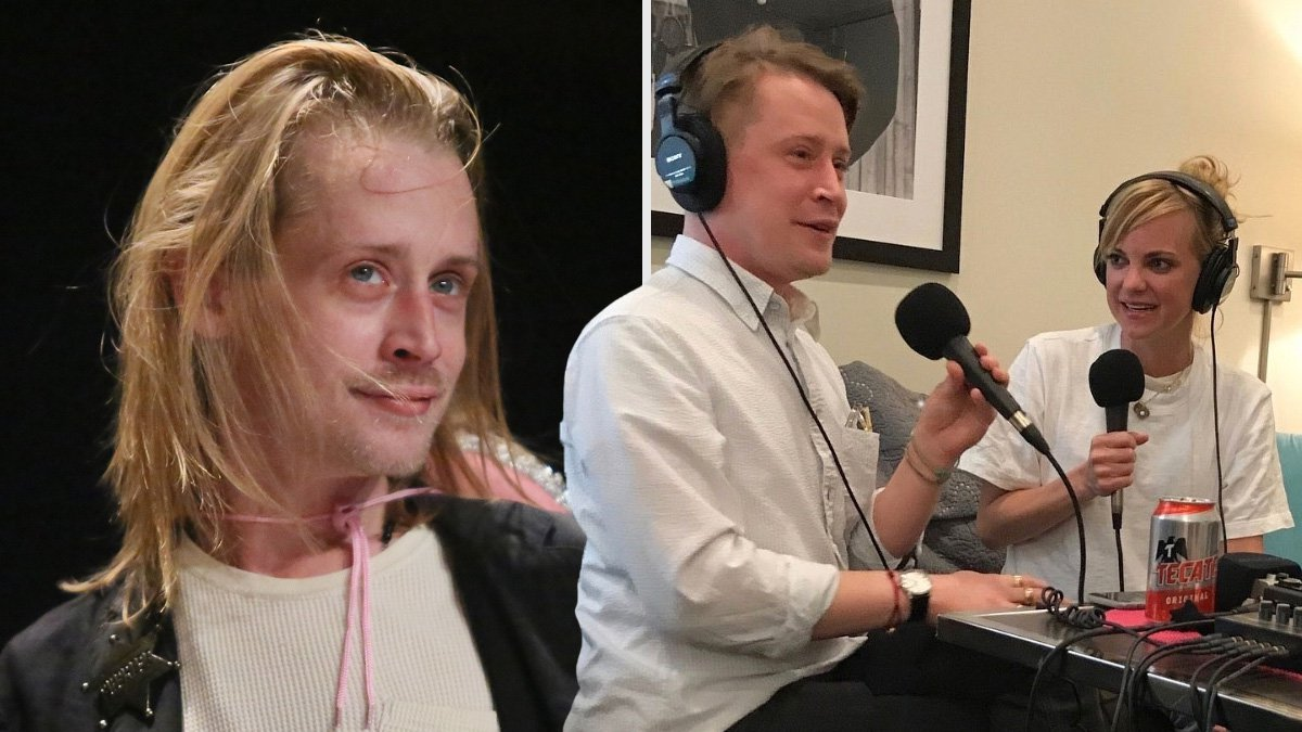Macaulay Culkin goes TMI as he talks about losing his virginity: 'It was warm and sticky'