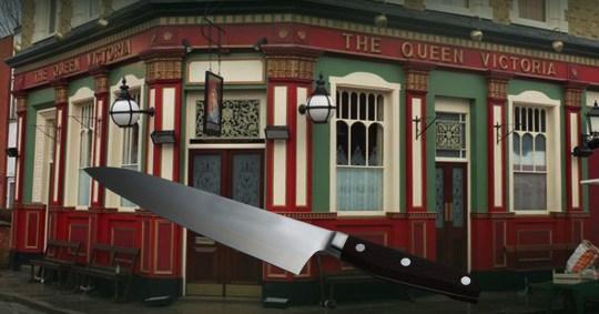 EastEnders stabbing story