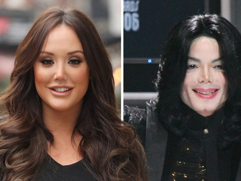Charlotte Crosby is more than happy to be compared to Michael Jackson after nose job