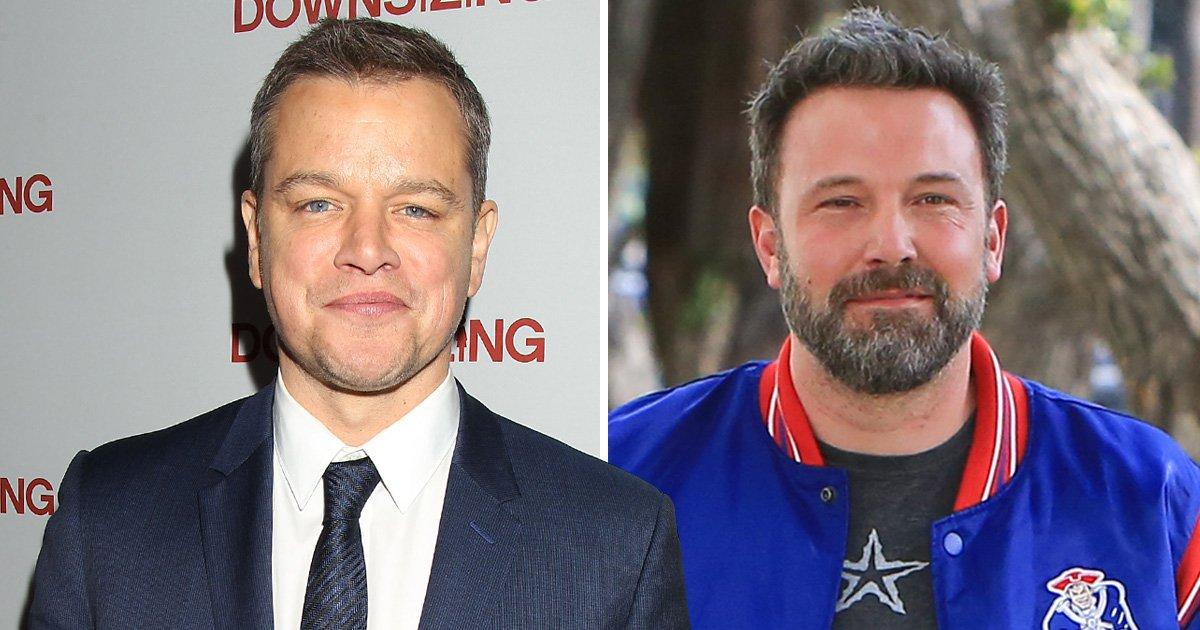 Matt Damon is here for Ben Affleck's garish new back tattoo