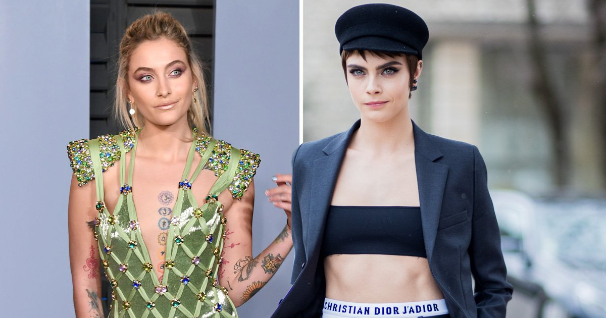 Paris Jackson and Cara Delevingne confirm romance with passionate clinch on double date with Macaulay Culkin