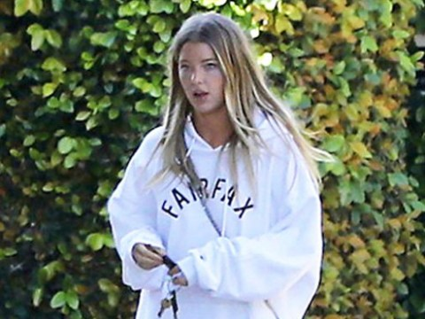 Justin Bieber's new girlfriend Baskin Champion is spotted leaving his house – but who is she?