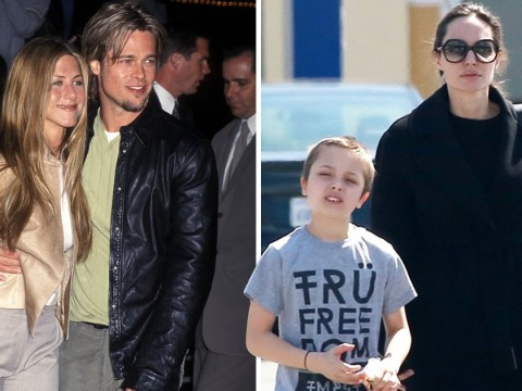 Angelina Jolie hits the pet shop with son Knox amid ex Brad Pitt and Jennifer Aniston rumours