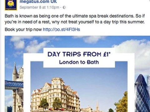 Megabus ad offering fares from £1 banned as it affected just one seat per coach