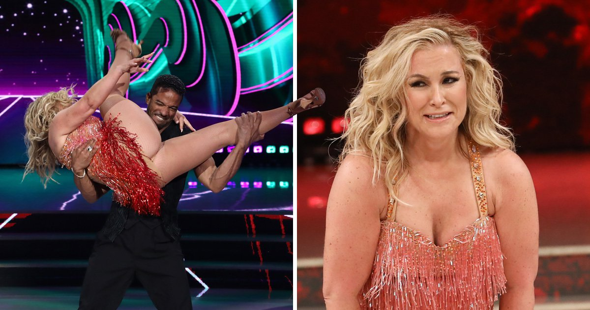 Anastacia reveals more than she bargained for in Dancing With The Stars wardrobe malfunction