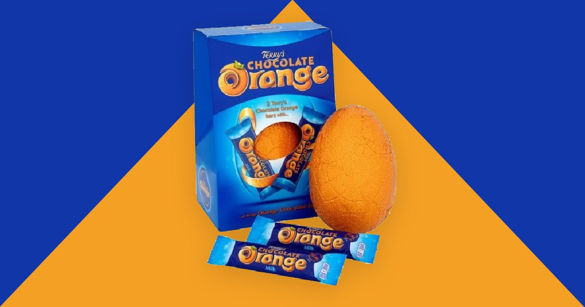 B&M is selling a Terry's Chocolate Orange Easter egg for £1.99