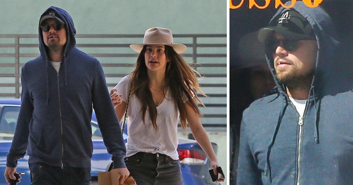 Leonardo DiCaprio attempts to go incognito as he strolls with new model 'girlfriend' Camila Morrone
