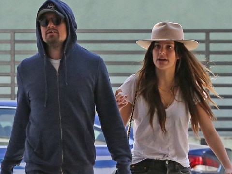 Leonardo DiCaprio attempts to go incognito as he strolls with new model 'girlfriend' Camila Morrone