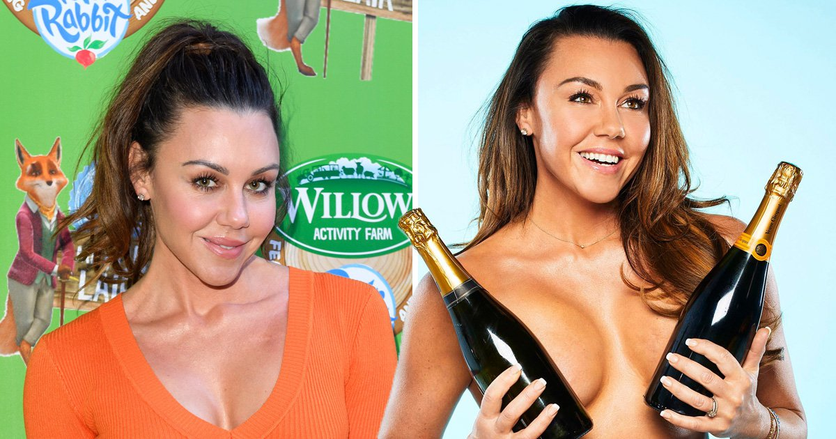 MichelleHeaton stripped topless on The Real Full Monty to inspire her daughter