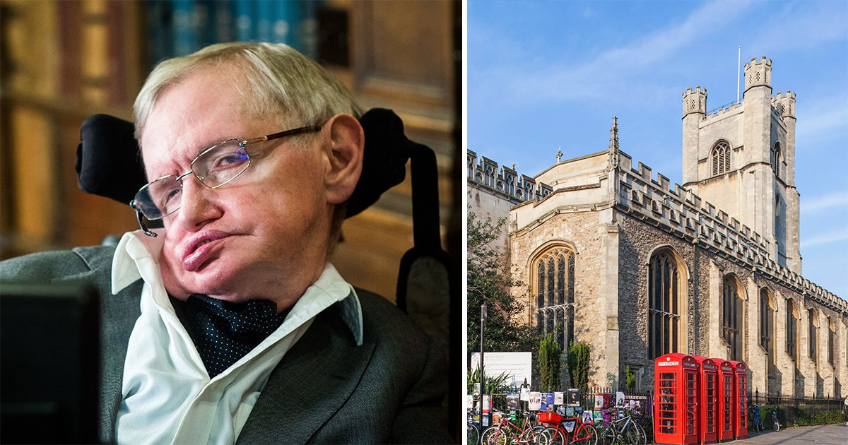 Professor Stephen Hawking's funeral to take place in Cambridge today