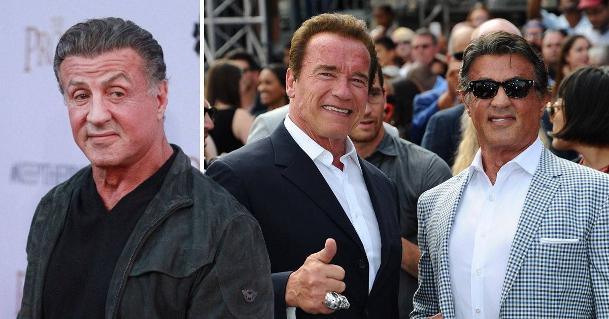 Sylvester Stallone says Arnold Schwarzenegger will be 'bigger and better after heart surgery'