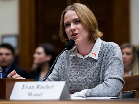 Evan Rachel Wood details harrowing rape as she implores Congress to pass sexual assault survivor's bill