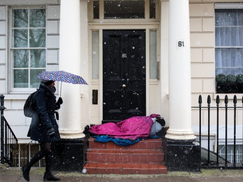 Government's rough sleeping task force is a 'pitiful response' to UK's homelessness crisis