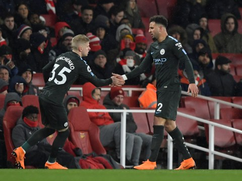 Manchester City star Kyle Walker felt pain in 'many places' during Arsenal victory – but is still in contention to face Chelsea