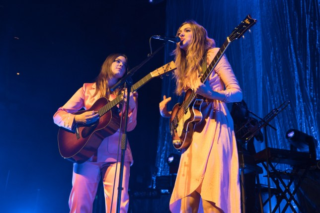 First Aid Kit performing live on stage at The Roundhouse in London in support of their new album Ruins. Photo date: Thursday, March 1, 2018. Photo credit should read: Richard Gray/EMPICS Entertainment