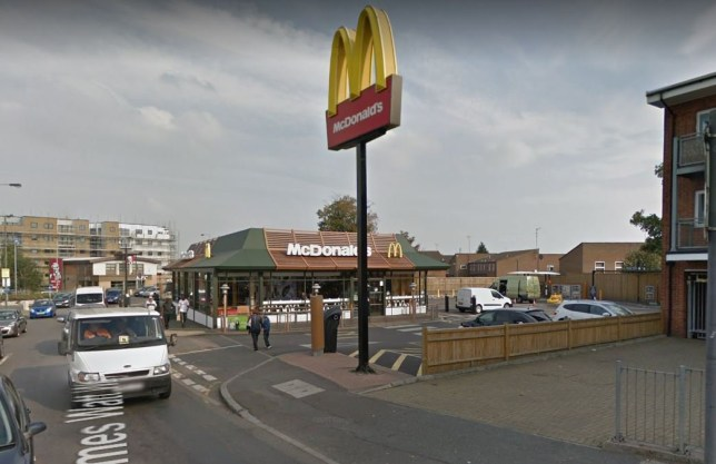 McDonald's 'force girl, 14, to eat outside in snow because she's wearing school uniform' McDonald's branch in Erith, south London Google Maps