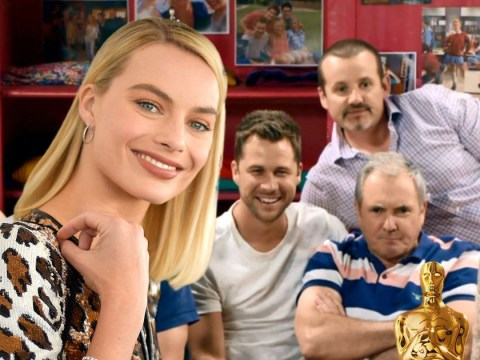 Neighbours cast wish Margot Robbie luck ahead of the Oscars in sweet video message