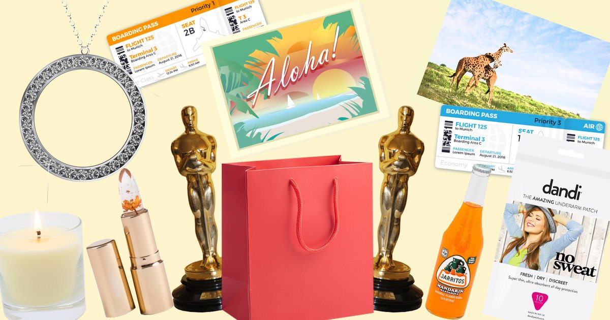 What the celebs are getting in their Oscars goodie bags
