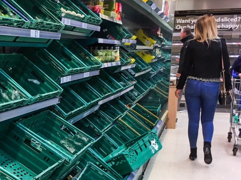 Don't panic but a vegetable shortage could hit supermarkets very soon