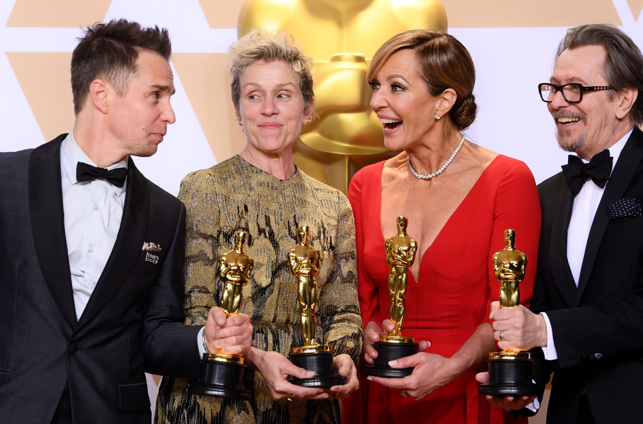 Frances McDormand's Oscar was stolen not lost, and thief has been arrested for grand theft