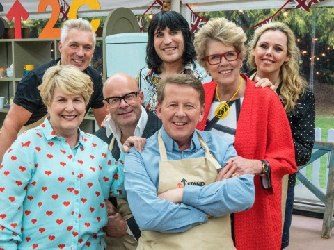 When is The Great Celebrity Bake Off for Stand Up to Cancer on and who joins Bill Turnbull and Martin Kemp on it?
