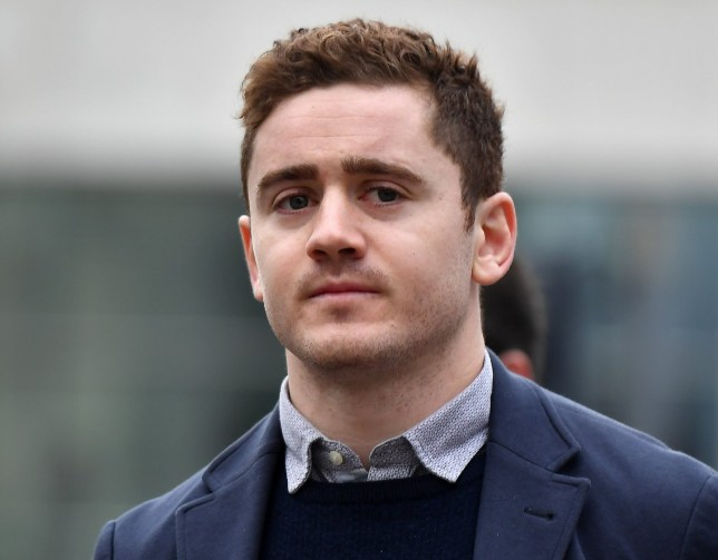 BELFAST, NORTHERN IRELAND - MARCH 7: Paddy Jackson arrives at Belfast Laganside courts on March 7, 2018 in Belfast, Northern Ireland. The Ireland and Ulster rugby player is accused of raping a woman in June 2016 at a property in south Belfast along with fellow Ulster and Ireland international Stuart Olding. The defence is scheduled to open it's case today after a delay due to a juror's illness. (Photo by Charles McQuillan/Getty Images)