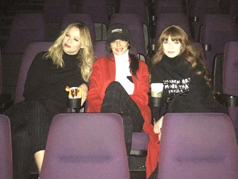 Cheryl takes a break from Liam Payne woes to visit Black Panther's Wakanda with Girls Aloud pals
