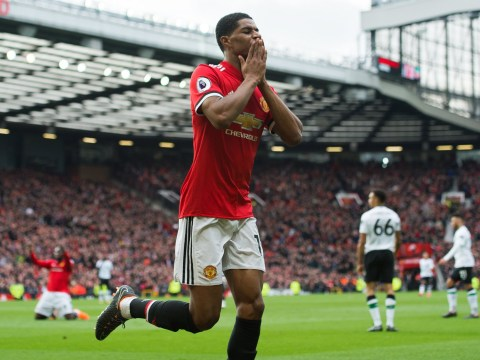 Jose Mourinho blames Gary Neville for denying Marcus Rashford hat-trick chance against Liverpool