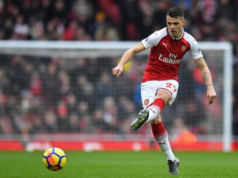 Arsenal midfielder Granit Xhaka gives positive injury update after World Cup scare