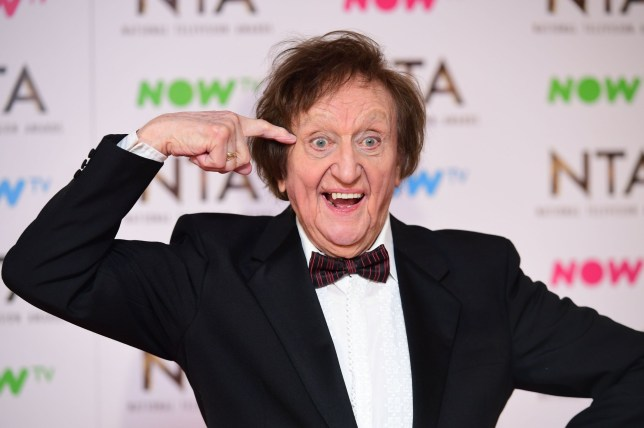 File photo dated 25/01/2017 of comedy legend Sir Ken Dodd, who has died aged 90, in the press room at the National Television Awards 2017, held at The O2 Arena, London. PRESS ASSOCIATION Photo. Issue date: Monday March 12, 2018. See PA story DEATH Dodd. Photo credit should read: Ian West/PA Wire