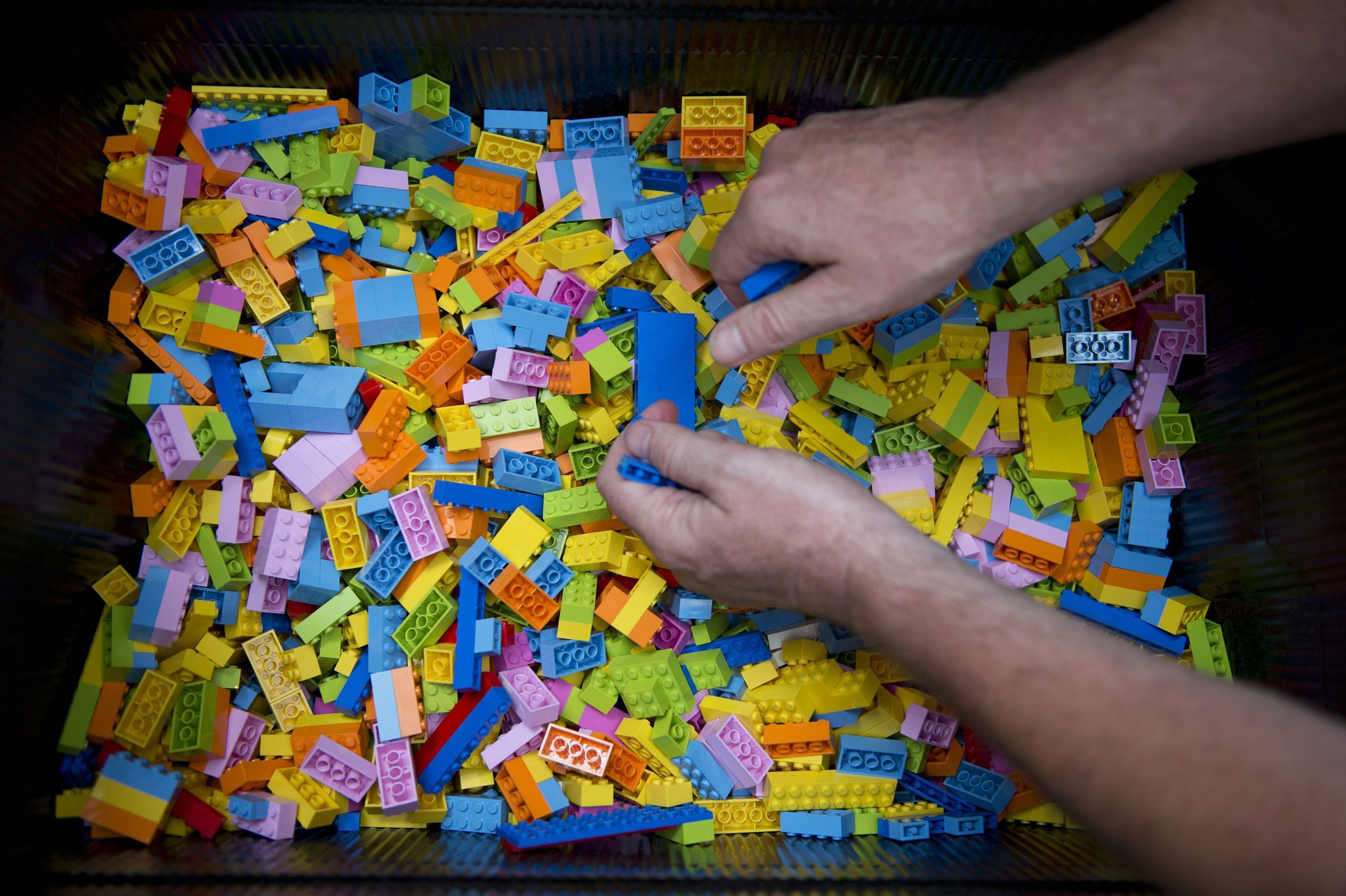 Why adults are using Lego to battle stress
