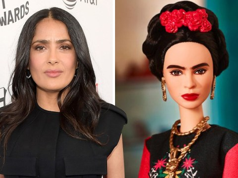 Salma Hayek is not impressed with the new Frida Kahlo Barbie doll