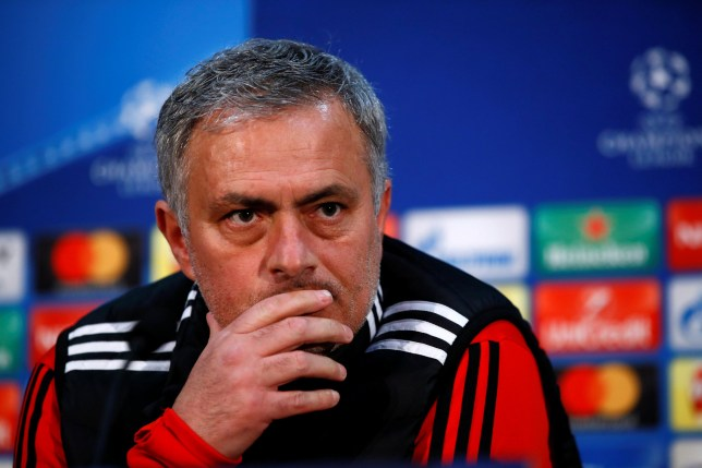 Soccer Football - Champions League - Manchester United Press Conference - Old Trafford, Manchester, Britain - March 12, 2018 Manchester United manager Jose Mourinho during the press conference Action Images via Reuters/Jason Cairnduff