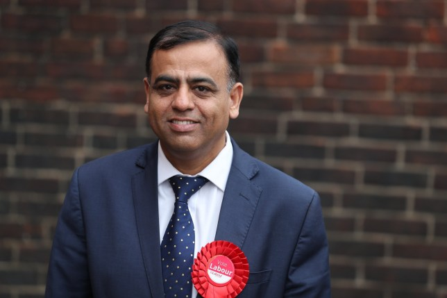 Labour candidate for Bedford East Mohammad Yasin during an election campaign visit to Bedford Guild House.