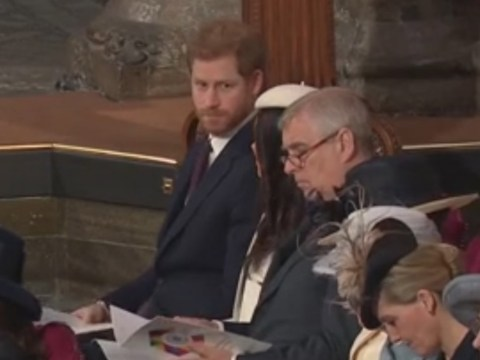 Prince Harry shades Liam Payne raising eyebrows at performance at the Commonwealth service