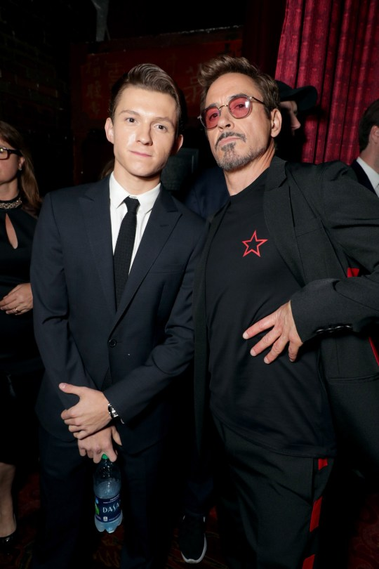 87674294f4e Spider-Man's Tom Holland talking about Robert Downey Jr is heart ...