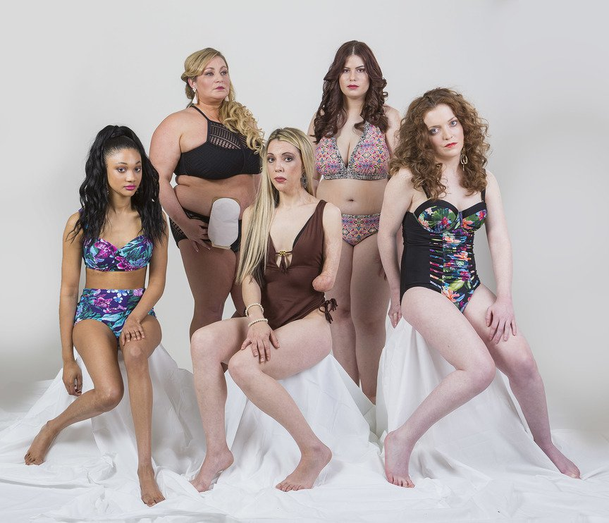 (Picture: James Alexander Lyon/Swimsuit For All) Models of Diversity Produces Photo-shoot Featuring Models with Disabilities In another of its unique photo-shoots, Models of Diversity brings together five absolute stunners proving disability should never be an obstacle to becoming a model with impact. So what's stopping the fashion, beauty and media industries employing models with disabilities to engage with what the DWP estimates as 11.6 million disabled people in Great Britain?