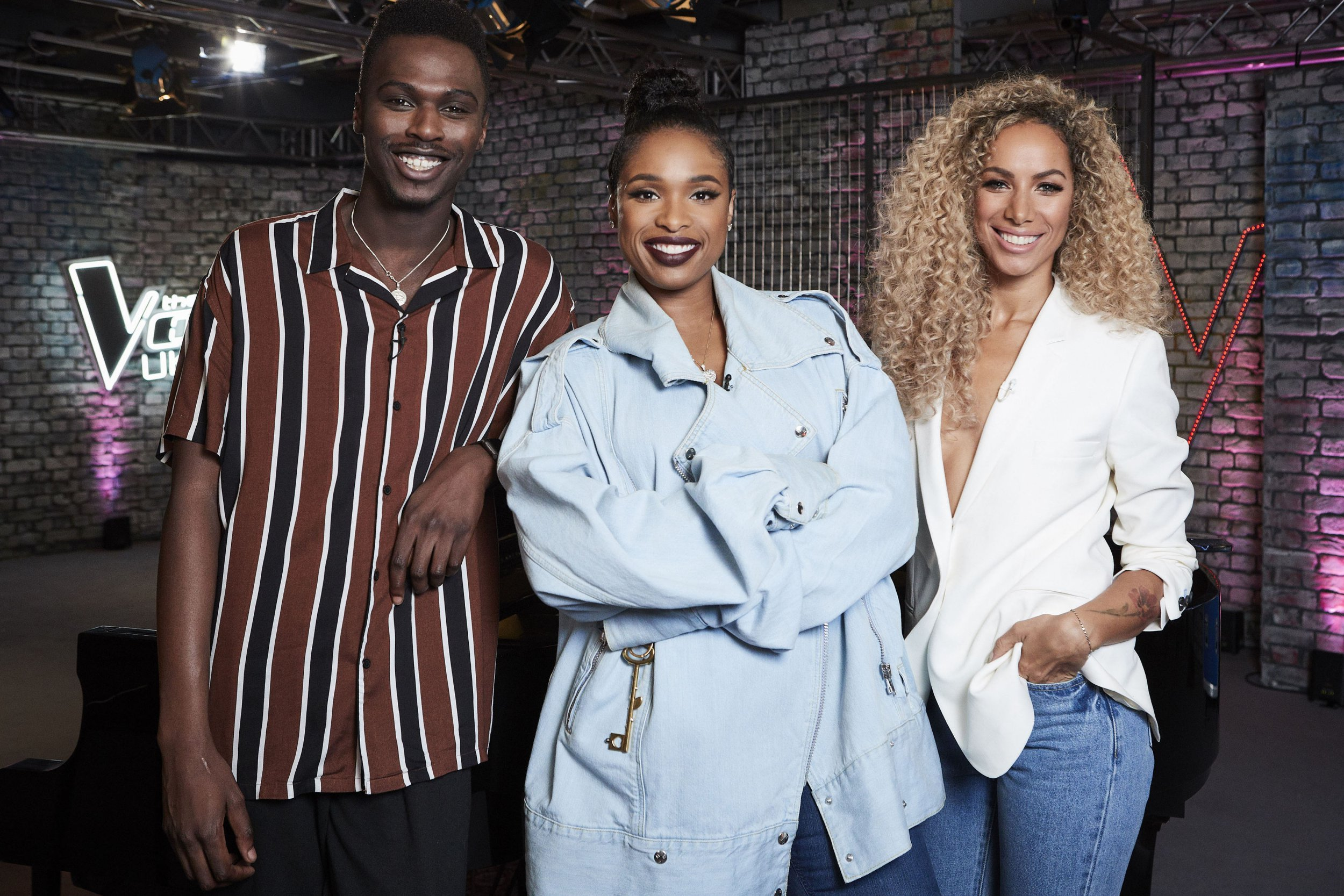 Undated handout photo issued by ITV of Jennifer Hudson (centre) will be joined by Mo Jamil (left) and Leona Lewis (right) as guest mentors on The Voice UK. PRESS ASSOCIATION Photo. Issue date: Monday February 19, 2018. See PA story SHOWBIZ Voice. Photo credit should read: ITV/PA Wire NOTE TO EDITORS: This handout photo may only be used in for editorial reporting purposes for the contemporaneous illustration of events, things or the people in the image or facts mentioned in the caption. Reuse of the picture may require further permission from the copyright holder.