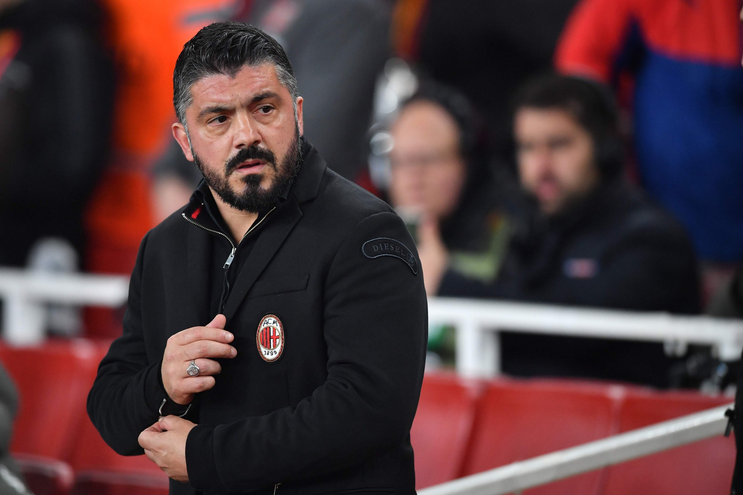 Video: Gennaro Gattuso rages over Danny Welbeck dive during Arsenal v AC Milan tie