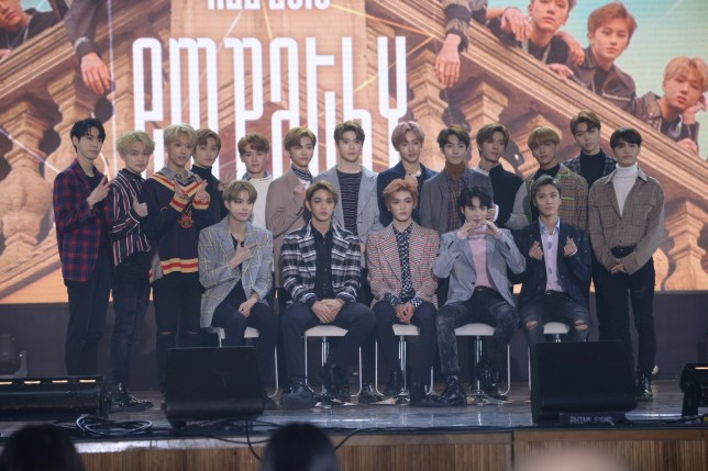 NCT Empathy showcase sees 18 members from three units
