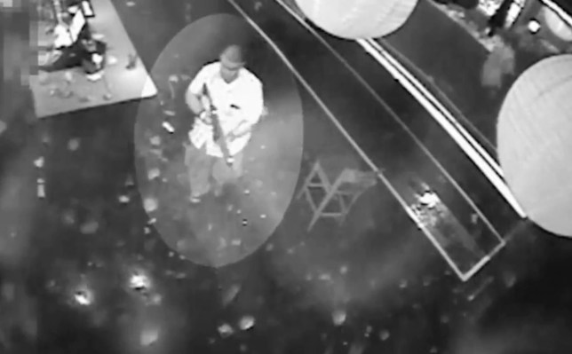 Picture: CCTV Horrific footage inside the Pulse nightclub shooting