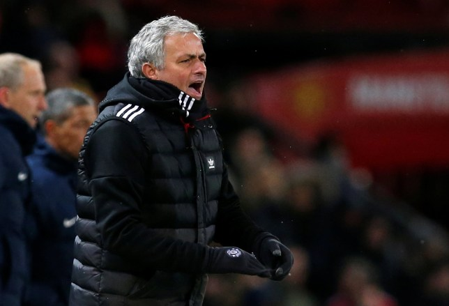 Soccer Football - FA Cup Quarter Final - Manchester United vs Brighton & Hove Albion - Old Trafford, Manchester, Britain - March 17, 2018 Manchester United manager Jose Mourinho REUTERS/Andrew Yates